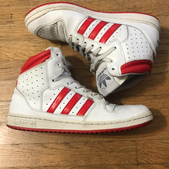 sports shoes 8f9fc 22dc2 adidas Other - adidas originals high top three 3 stripes men 11.5